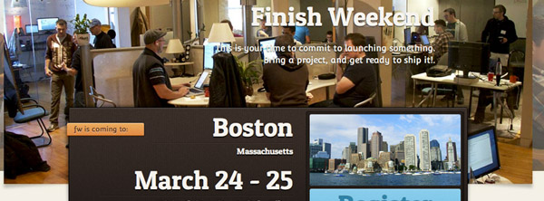 finish weekend featured image