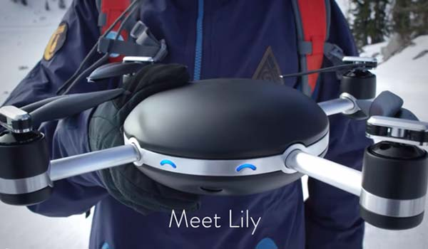 lily - camera drone with great website design