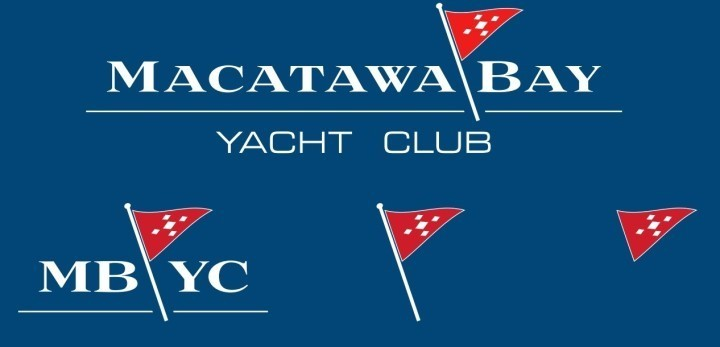 Macatawa Bay Yacht Club rebranding feat. House Industries Luxury Diamond typeface
